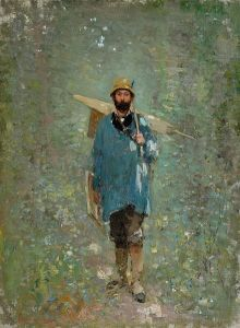 Nicolae Grigorescu(15 mai 1838, Pitaru, Dâmboviţa-21 iulie 1907, Câmpina) | G a b i, My heart to your heart Pretty Art, Modern, Mai, Painting, Impressionism, Trendy Tree, Painting Art, Paint, Draw