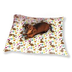 custom printed by uneekee, fido can now lounge on a luxury pillow that coordinates nicely with the rest of your home decor. choose from an exclusive array of prints, patterns or modern art and give yo