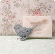 The sparrow Bird flexible silicone mould molds for polymer Sparrow Bird, Baking Clay, Porcelain Clay, Silicone Molds, Flexibility, Polymer Clay, Bubbles, Soap