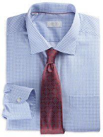 Eton® Medallion-Print Dress Shirt