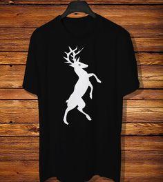 Standing Deer Going to Jump Tshirt in Animal Tshirt by TeeCaoss, $17.96