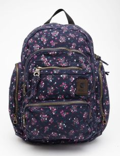 Roxy Move Out Canvas Backpack Roxy Backpacks, School Backpacks, Canvas Backpack, Backpack Bags, My Bags, Purses And Bags, Cute School Bags, Roxy Surf, Cute Bags