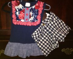 Check out this listing on Kidizen: PERSNICKETY Lou Lou Top & Shorts Sz 3 #shopkidizen