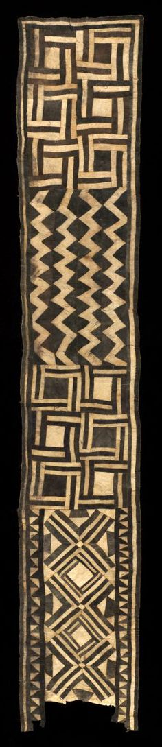 Ceremonial Bushong Skirt, Democratic Republic of the Congo