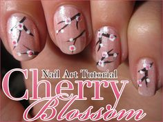 Nail Art How-to: Cherry Blossom - Beautylab.nl
