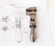 BORNSTEIN'S PATENT 5 Inch Adjustable Wrench
