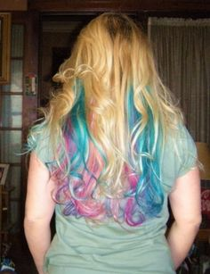 Candy Colored Hair