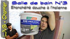 Salle de bain N°3  -Etancheité bac a l'italienne - FR - LJVS - YouTube