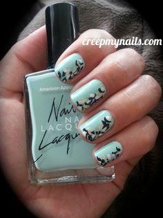 Pastel Leopard Print Nails Love Nails, How To Do Nails, Fun Nails, Pretty Nails, Nail Swag, Youtube Nail Art, Leopard Print Nails, Hair Skin Nails, Nail Art Hacks