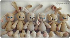 Mesmerizing Crochet an Amigurumi Rabbit Ideas. Lovely Crochet an Amigurumi Rabbit Ideas. Amigurumi Free, Crochet Patterns Amigurumi, Amigurumi Doll, Crochet Dolls, Crochet Motifs, Free Crochet, Free Rabbits, Rabbit Crafts, Crochet Rabbit