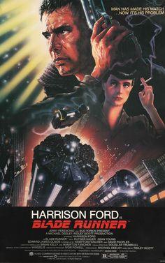 "Blade Runner (1982) Vintage Linen-Backed Movie Poster - 27"" x 41"""