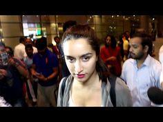 Shraddha Kapoor MOBBED by fans at Mumbai airport.