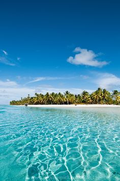 One Foot Island, Cook Islands.    I was born on Maui. Family lived their 11 years. This is 1000 times better. Kia Orana.
