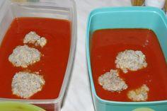Klasszikus paradicsomos húsgombóc - Mit főzzek ma magunknak? Minion, Pudding, Foods, Desserts, Food Food, Tailgate Desserts, Food Items, Deserts, Custard Pudding