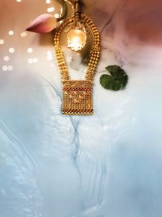 Divyam by Tanishq India Jewelry, Temple Jewellery, Gold Earrings Designs, Necklace Designs, Tanishq Jewellery, Gold Jewellery, Diwali Jewellery, Gold Jewelry Simple, Gold Fashion