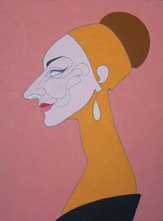 Maria Callas by Oleg Karuvits
