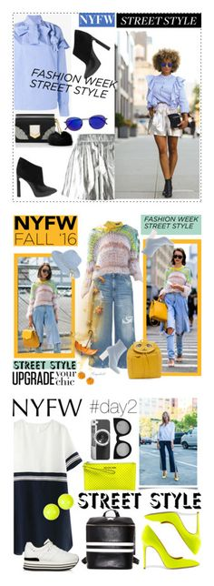 """""""Winners for NYFW Street Style: Day Two"""" by polyvore ❤ liked on Polyvore featuring M Missoni, A.W.A.K.E., Jimmy Choo, RetroSuperFuture, StreetStyle, NYFW, Dorothy Perkins, 7 For All Mankind, Vivienne Westwood and MARIOS"""