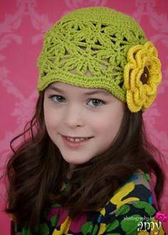 Ravelry: Abigail Lace Hat pattern by Jonna Ventura $4.00
