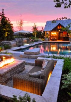 Resort style backyard. Awesome View!