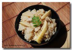 筍ご飯 ........ 旬の『たけのこ』を使って炊き込みご飯をつくりました! : 魚屋三代目日記