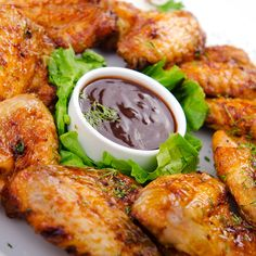 A flavorful crispy chicken wing recipe�. Chicken Wings Recipe from Grandmothers Kitchen.