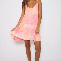 Pink Panther Dress - Pink Print