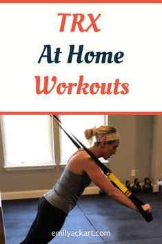 Try these FREE quick at home TRX workouts from a certified personal trainer. Perfect for TRX beginners and advanced fitness levels. Trx Workouts For Women, At Home Workouts, Body Workouts, Full Body Workout At Home, Suspension Training, Training Schedule, Workout For Beginners, Workout Videos, Fitness Inspiration