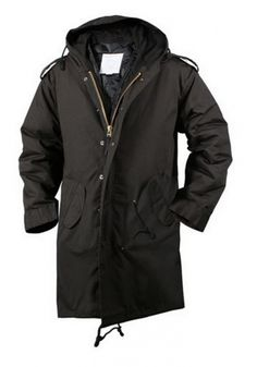 Military Parkas M-51 Fishtail Parka Black