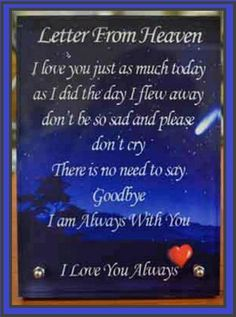 Discover and share Letters From Heaven Quotes. Explore our collection of motivational and famous quotes by authors you know and love. Miss You Daddy, I Miss My Mom, Mom And Dad, As You Like, Love You, My Love, Letter From Heaven, Bad Quotes, Funny Quotes