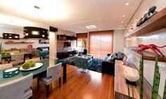 Sala de jantar assinada por Archdesign Studio.