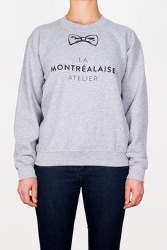 Sweatshirt La Montrealaise