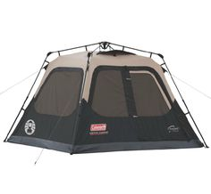 Coleman Outdoor Family C&ing 4-Person 8u0027 x 7u0027 Waterproof Instant Cabin Tent  sc 1 st  Pinterest & Coleman® 6-person Instant Tent COSTCO VERSION @Carissa Coffin ...