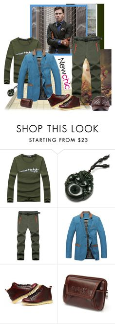 """NEWCHIC 108. (Men 6.)"" by carola-corana ❤ liked on Polyvore featuring Cloud Nine, 3.1 Phillip Lim, men's fashion and menswear"