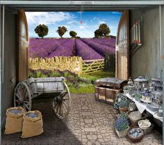 Provence...look what's in my garage! Creative people over at Style Your Garage.