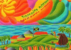 Jamaica Dream matite colorate su carta