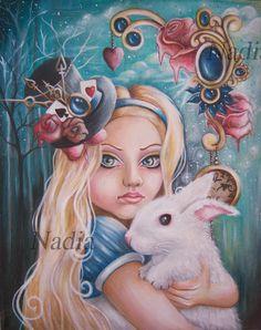 Lost in Wonderland by Nadia Awan