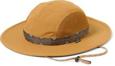 If you were to judge a guide by their hat, we'd follow the one wearing an REI Co-op Sahara Guide hat. It keeps sun out of your eyes, vents to cool your head, won't blow off in a breeze and it floats. Available at REI, 100% Satisfaction Guaranteed. Hiking Clothes, Hiking Shoes, Mountain Bike Shoes, Mountain Biking, Adventure Hat, Safari Hat, Outdoor Hats, Blow Off, Op Logo