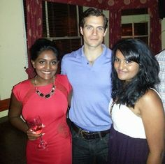 feenon91's new photo with Henry Cavill in the UK!