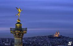 L'ange de la Bastille – Anthony Gelot (AGPhotographe)