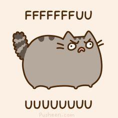 Chat Pusheen, Pusheen Love, Pusheen Stuff, Crazy Cat Lady, Crazy Cats, Animal Gato, Image Chat, Nyan Cat, Kawaii Cat