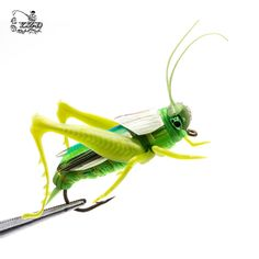 2017 Hopper Flies Dry Fly Fishing Flies Set Realistic Fly Tying Kit Lure for Pike Rainbow Trout Grasshopper