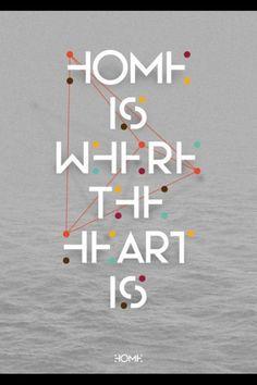 Home is where the heart is via @_treepig_