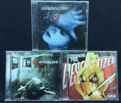 Drowning Pool CD/CDs Lot of 3: Full Circle + Spinner + Desensitized