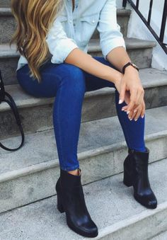 jeans + booties