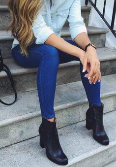jeans + booties