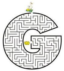 Image result for letter m maze