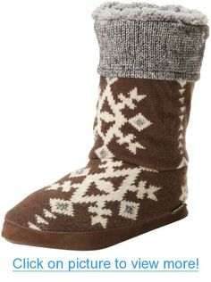 Muk Luks Women's Vanessa North American Slipper Bootie