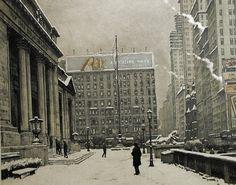 "ŠIMON Tavík František: ""New York Public Library"""