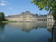 Château de Fontainebleau, France, was the residence of French monarchs from Louis VII through Napoleon III. Napoleon I abdicated his throne there before being exiled to Elba. Today it is a national museum and a UNESCO World Heritage Site.