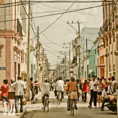 Camaguey, Cuba  For an authentic Cuban experience go to www.cubana.co.uk